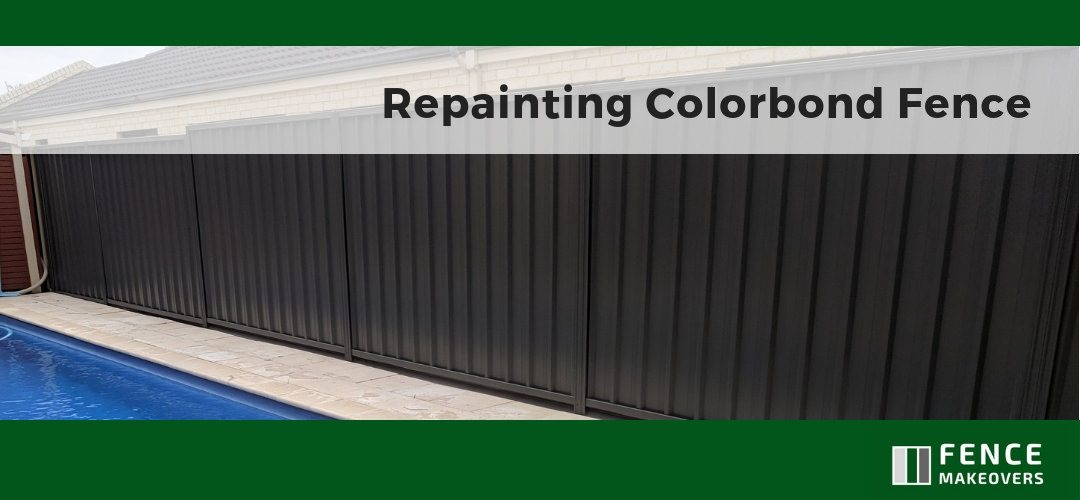 Repainting Colorbond Fence