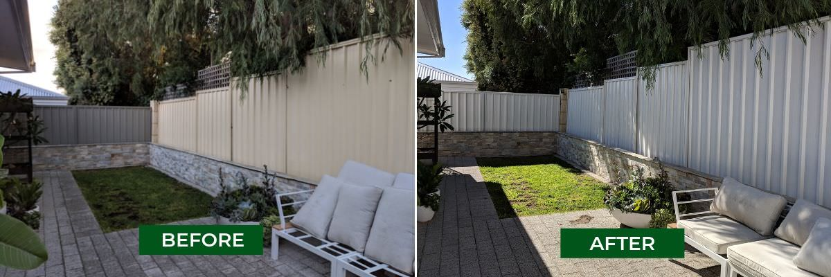 Painting Colorbond Fence | Transforming Backyards | Fence Makeovers