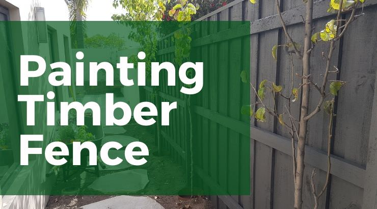 timber fence painters