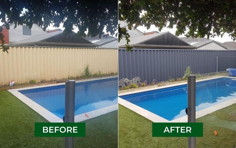 fence respraying Perth