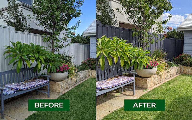 colorbond fence respraying